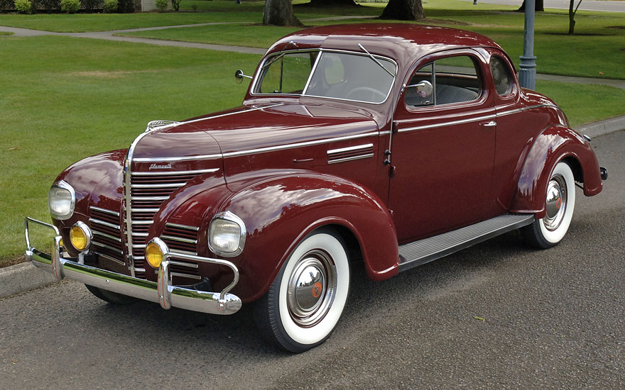 Used Cars Portland >> Sell used - '39 Plymouth P-8 Business Coupe - Full frame off restoration - Pre-War Mopar - in ...
