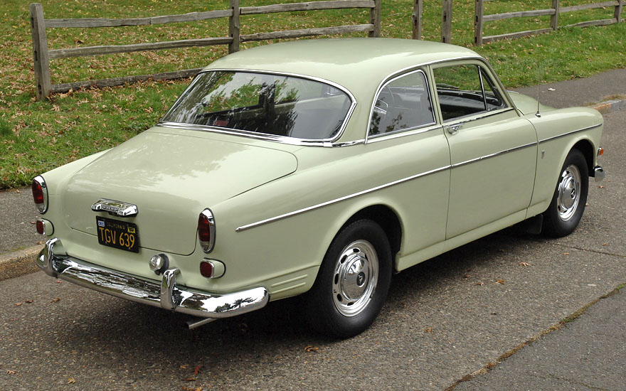 Buy used 66 Volvo 122S Coupe - 2 Owners - All records - B20 - Overdrive - CA Black Plates in ...