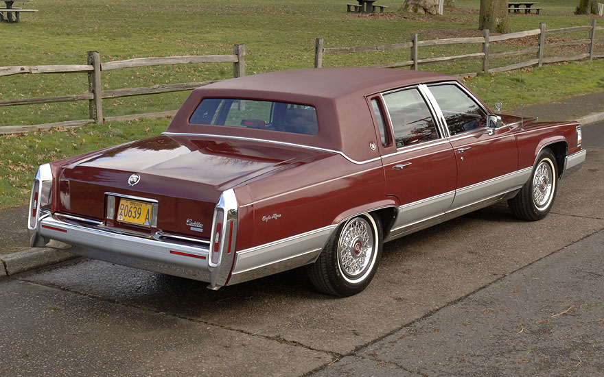 Buy used 1990 Cadillac Brougham d'Elegance - 77K miles - 5 7