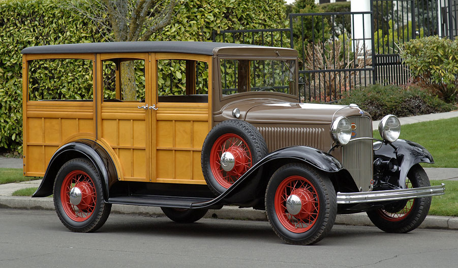 1932 Ford Woodie Wagon
