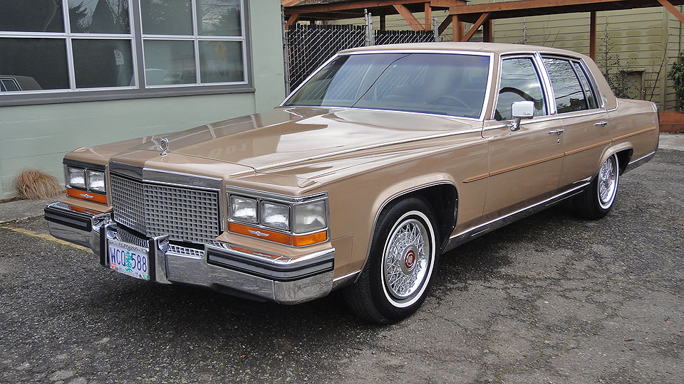 Oregon Auto Center >> Sell used '87 Cadillac Brougham - Loaded - LOW 67K miles ...