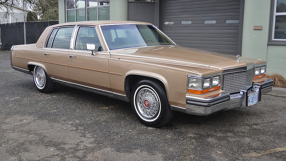 Sell Used 87 Cadillac Brougham Loaded Low 67k Miles